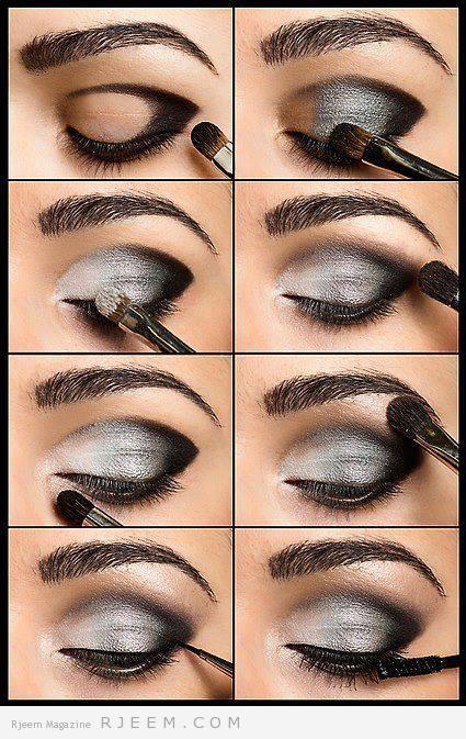 Wieczorowy Makijaż Oczu Krok Po Kroku