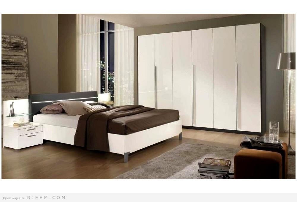 غرف نوم بينة اللون روعة | مجلة رجيم