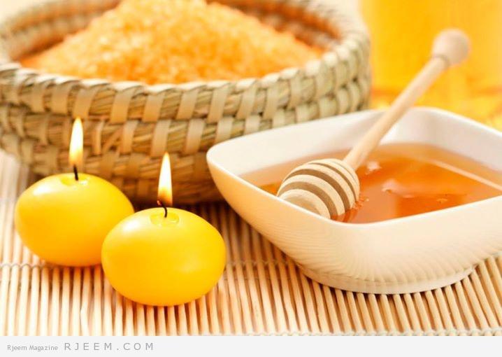 العسل للبشرة