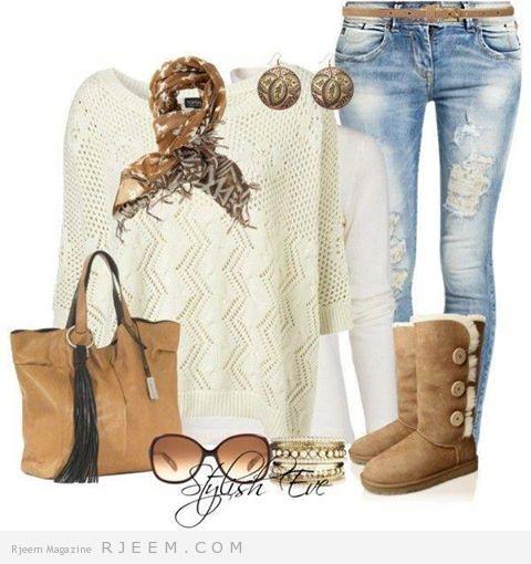 ملابس الشتاء 2014 -بناطيل وبلايز 02.jpg