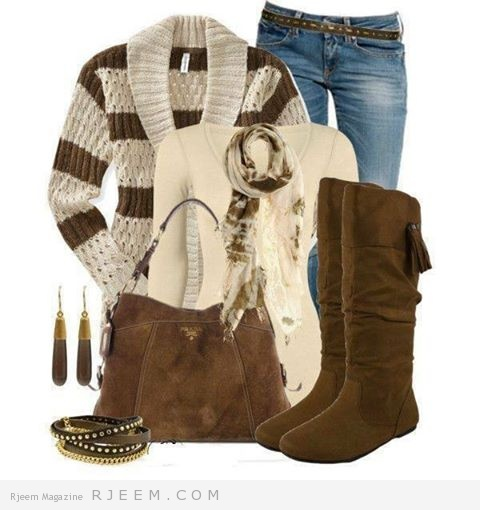 ملابس الشتاء 2014 -بناطيل وبلايز 04.jpg