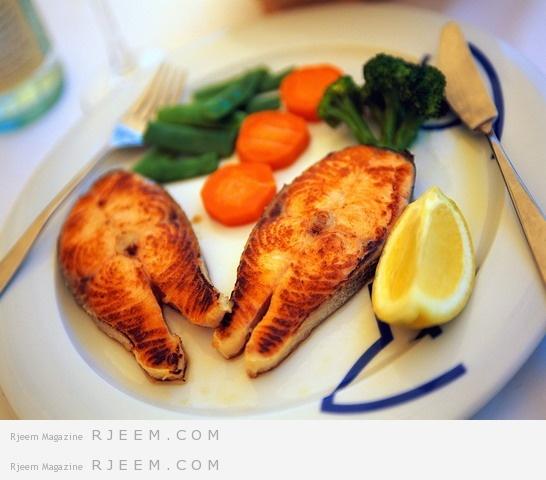فوائد السمك الغذائية