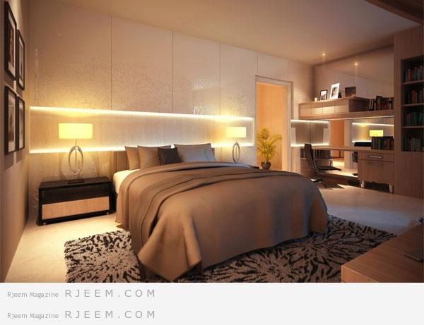 أفكار ديكور غرف نوم بتصميم عالمي