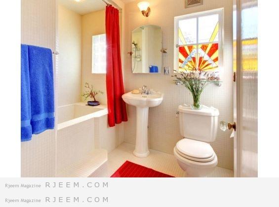 ترتيب الأغراض في الحمّام بشكل مناسب