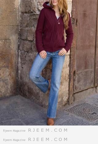 تنسيق ملابس شتوية 2014