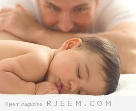 التغيرات الهرمونية بعد الولادة  الآباء أيضا!