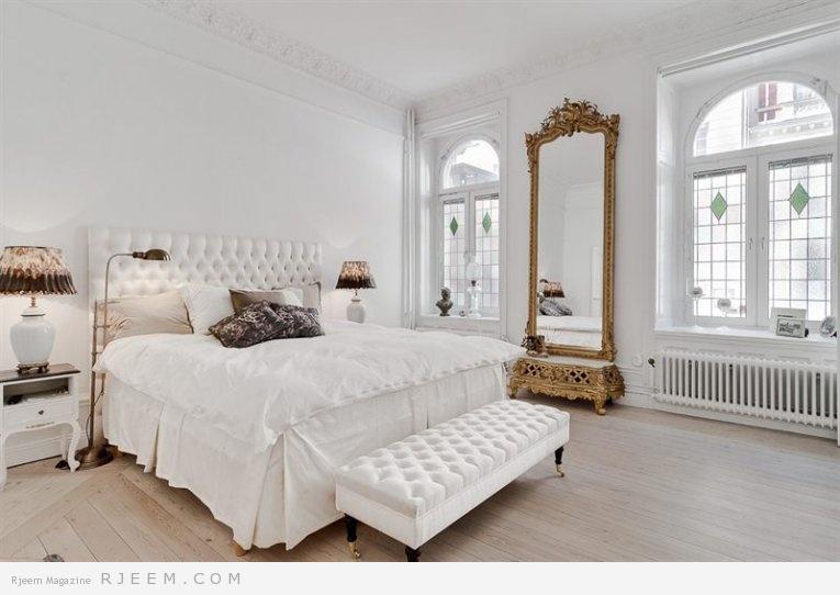 ديكورات غرف نوم بألوان الابيض | مجلة رجيم