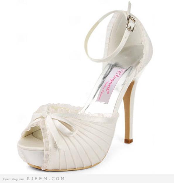 احذية زفاف روعه 2014