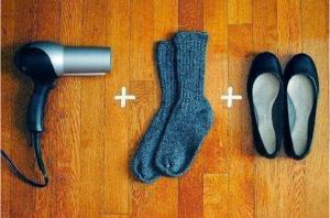 كيف تجعل الحذاء الضيق على مقاسك ؟ طريقة سهلة