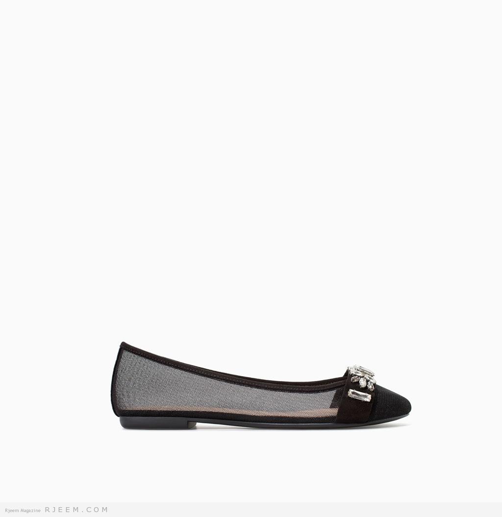 أحذية بدون كعب صيفية 2014