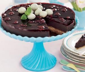 كعكة الشوكلاته بالنوجا