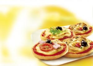 ميني بيتزا شهية