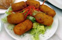 كفتة البطاطا بالدجاج المحشوة بالجبن