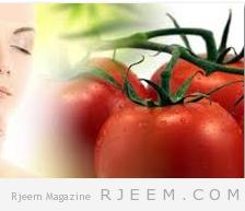 قناع الطماطم ومسحوق الحليب للبشرة الزيتية