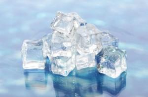 فوائد استخدام مكعبات الثلج