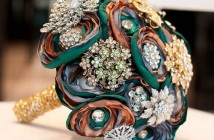 ماسكات زهور من الكريستال