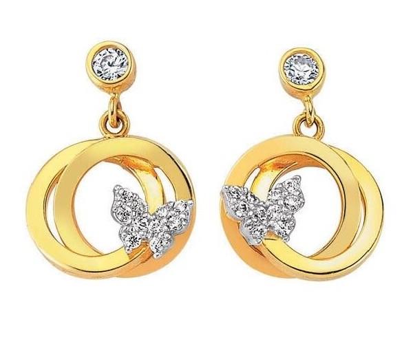 لمن تحب لبس الذهب gold-earrings-design