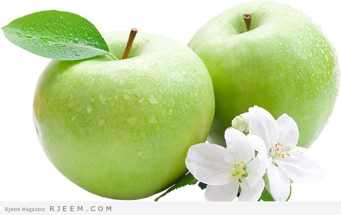التفاح والجمال