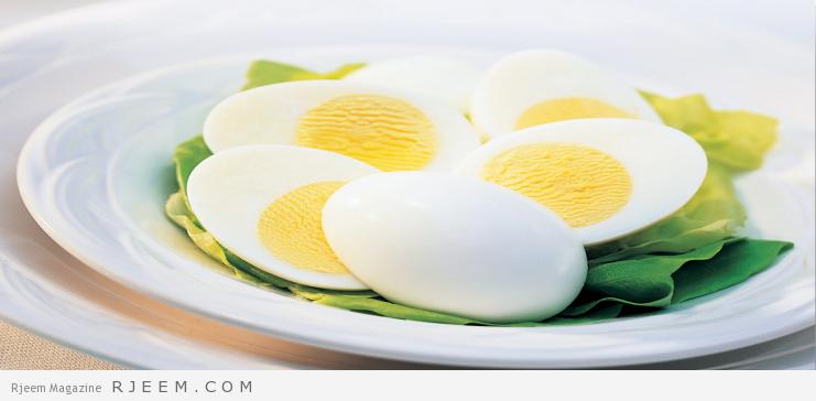 رجيم البيض لتخسيس 4 كيلو