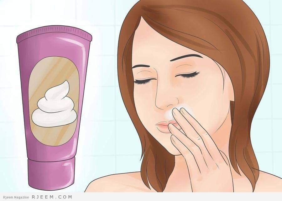 f246fa0c16deb 4 خلطات طبيعية تخلص من شعر الوجه الزائد