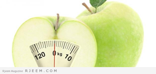 رجيم 3 ايام لانقاص الوزن الزائد