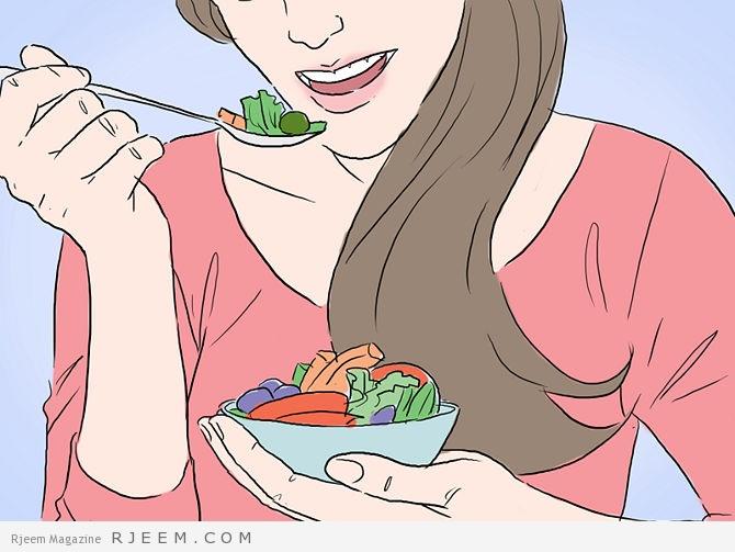 9 اطعمة تحافظ على الشعر اثناء الرجيم