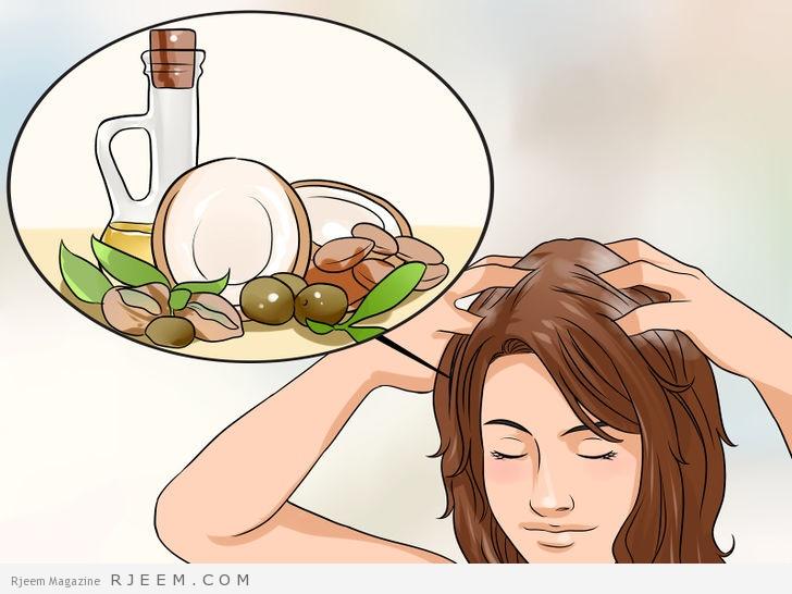 4 طرق لتنعيم الشعر بمواد طبيعية