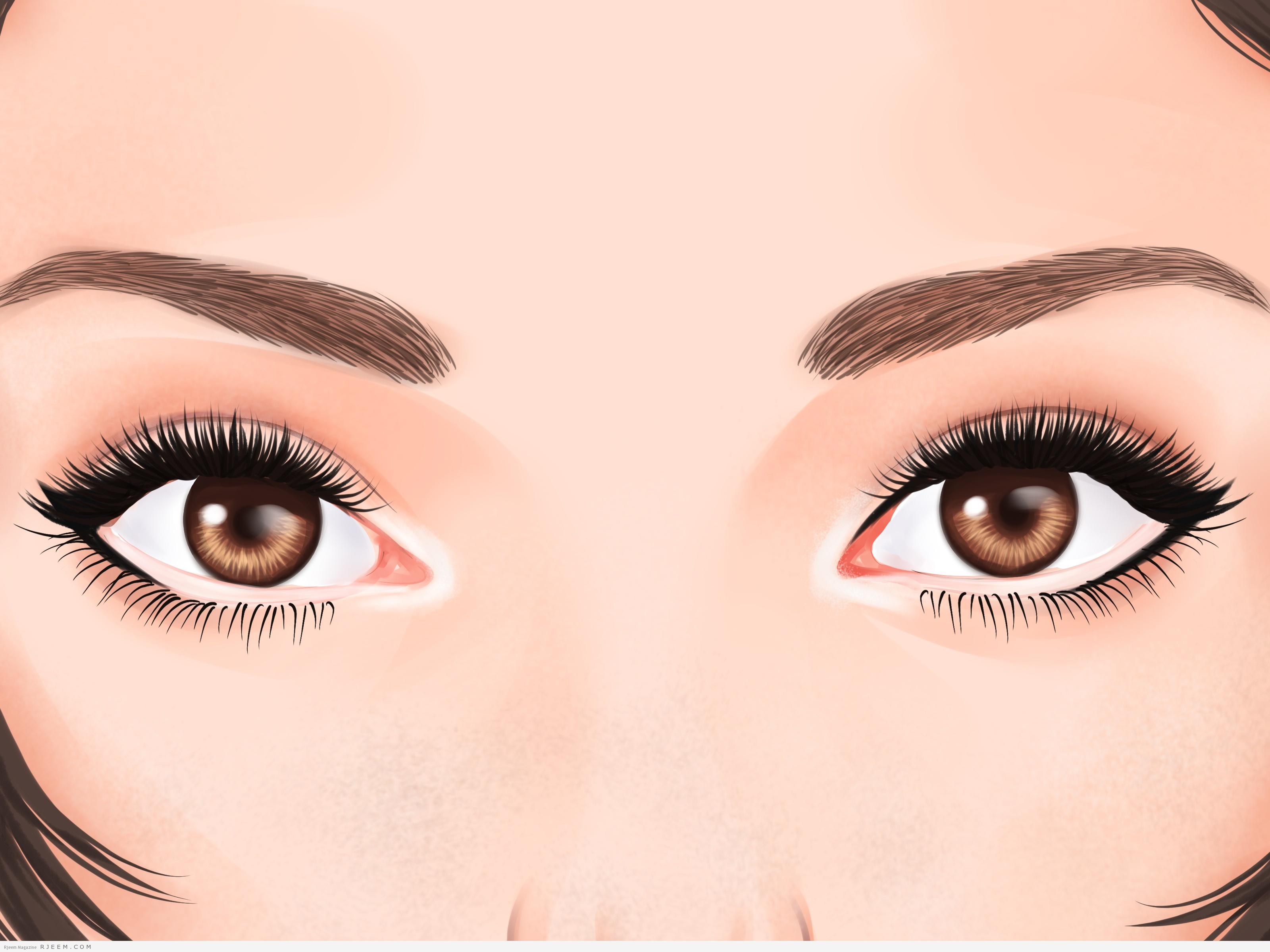 Как зрительно сделать большие глаза