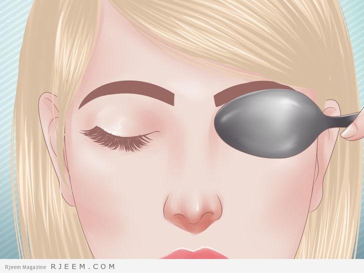 10 طرق لعلاج انتفاخ العين منزليا