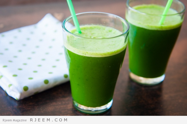 Jus de légume vert green
