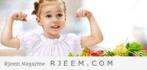 الغذاء الصحي في عمر 4-6 سنوات