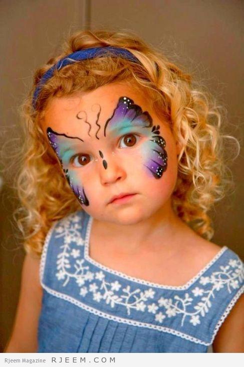 butterfly face so cute: