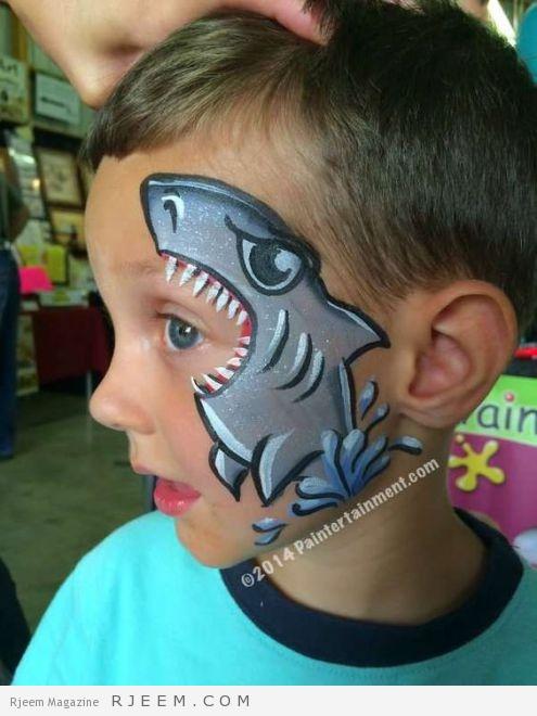 Maquillage requin Plus: