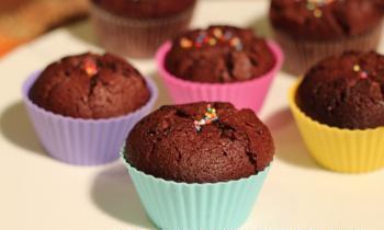 Photo of وصفة سهلة كب كيك بالشوكولاطة