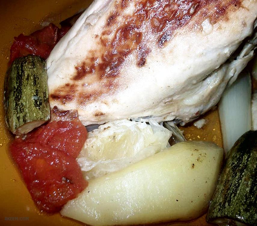 Photo of وصفة سهلة دجاج بالفرن بطريقة صحية
