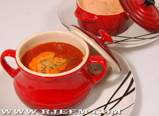 Photo of حساء الطماطم وصفة سهلة