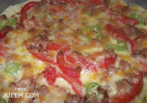 Photo of وصفة بيتزا بالبطاطا لليوم الفري