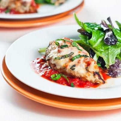 Photo of دجاج بجبنة البارميزان