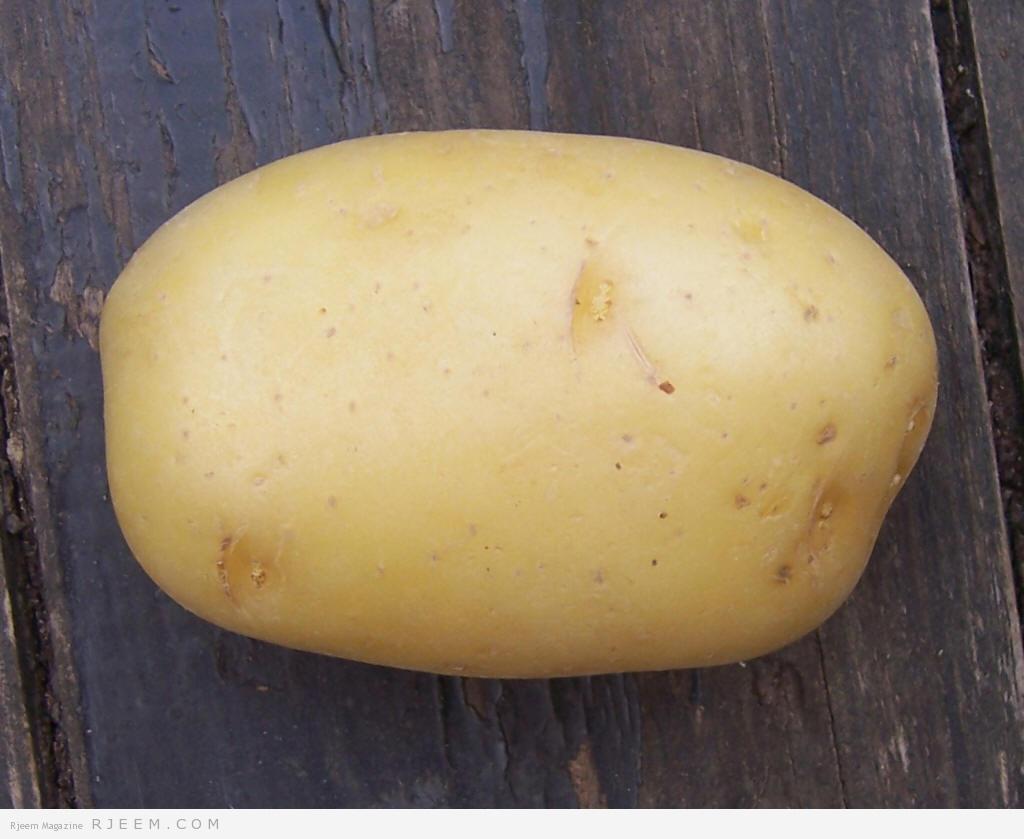 Photo of وصفة البطاطا لبشرة صافية
