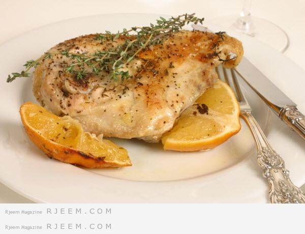 Photo of الدجاج الايطالي بالليمون و الاعشاب