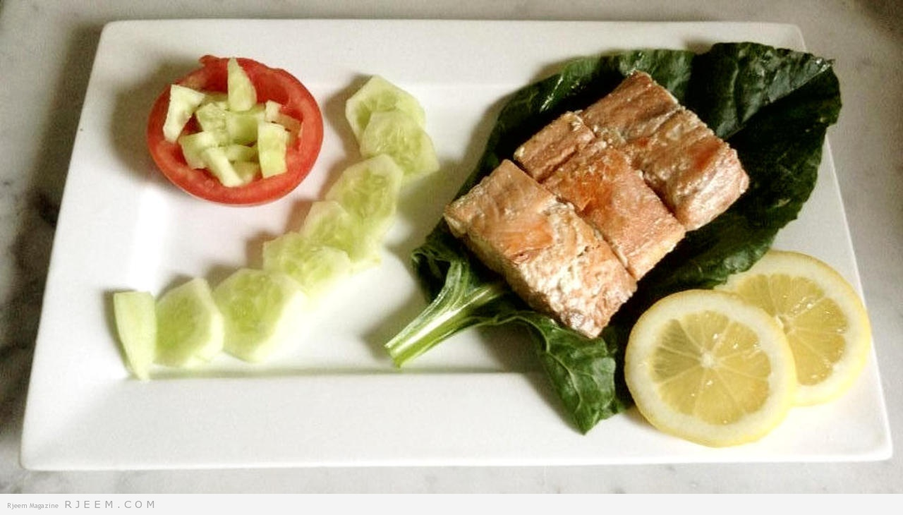 Photo of وصفة سمك السلمون دايت