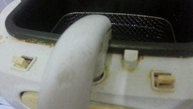 Photo of تنظيف المقلاة الكهربائية