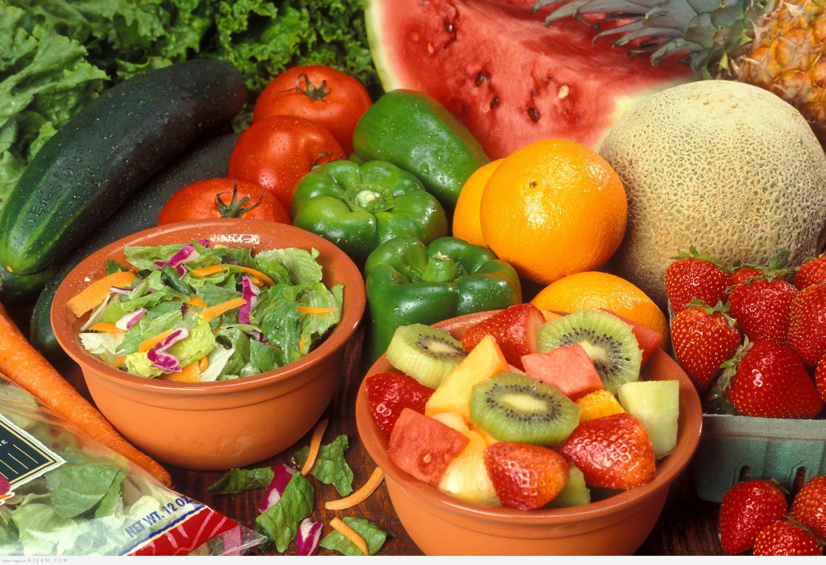 Photo of أفكار لتناول الخضروات والفاكهة بنسبة أكبر