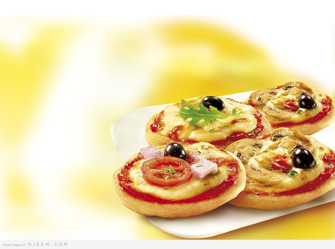 Photo of طريقة سهلة لعمل ميني بيتزا