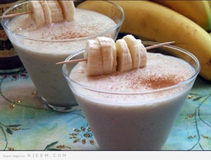 Photo of مشروب الموز والحليب بنكهة النيسكافيه