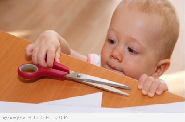 Photo of حافظي على سلامة طفلك في المنزل