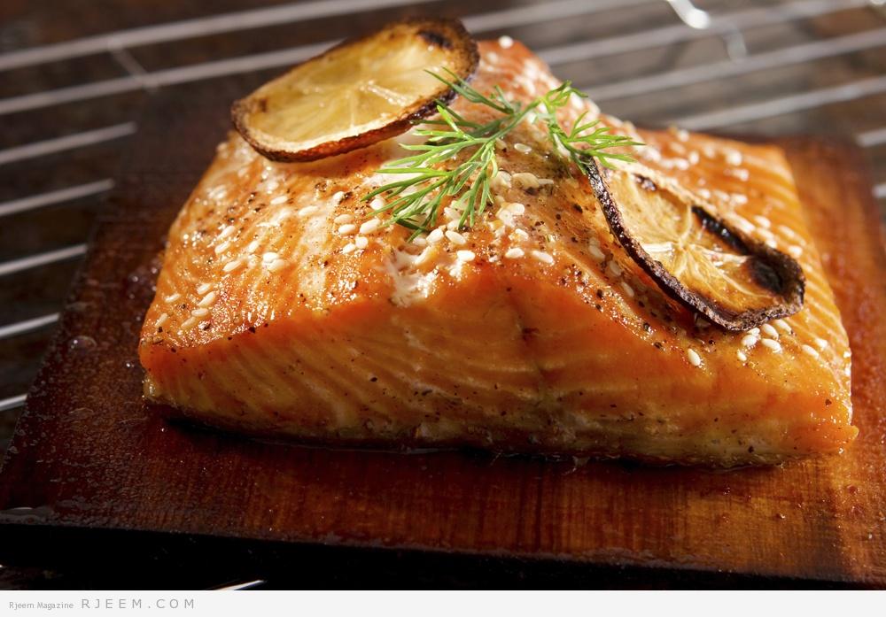 Photo of سمك السلمون مع صلصلة الطماطم