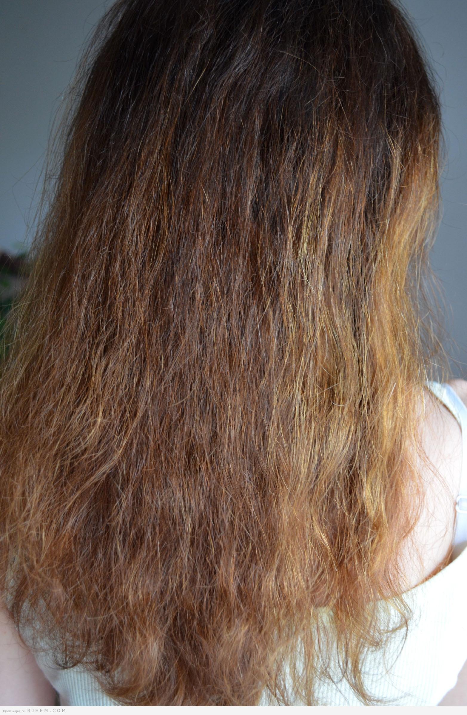 Photo of حلول طبيعية  للتخلص من جفاف الشعر