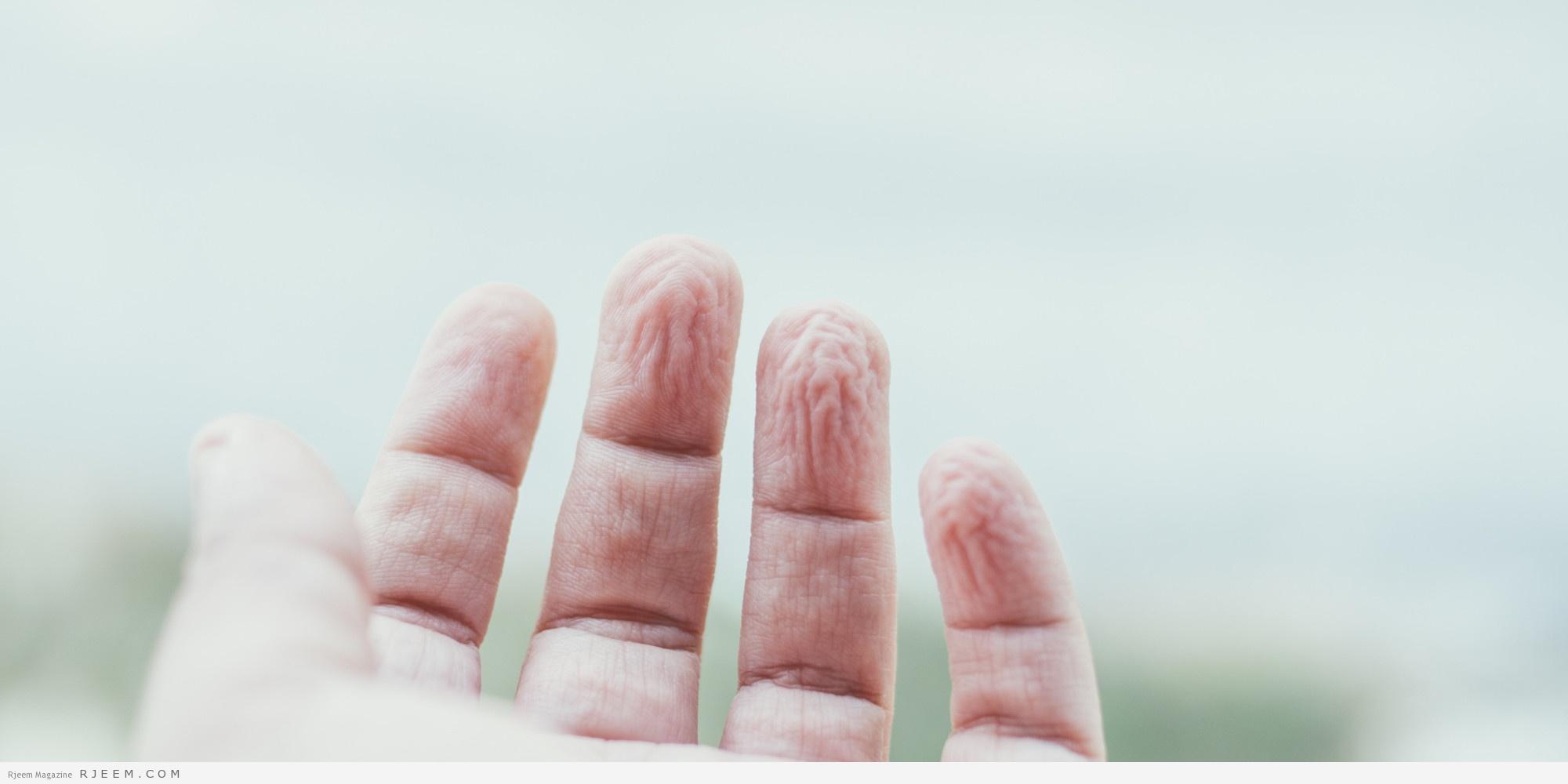 Photo of لغز تجعّد الأصابع بعد وضعها لفترة طويلة في الماء