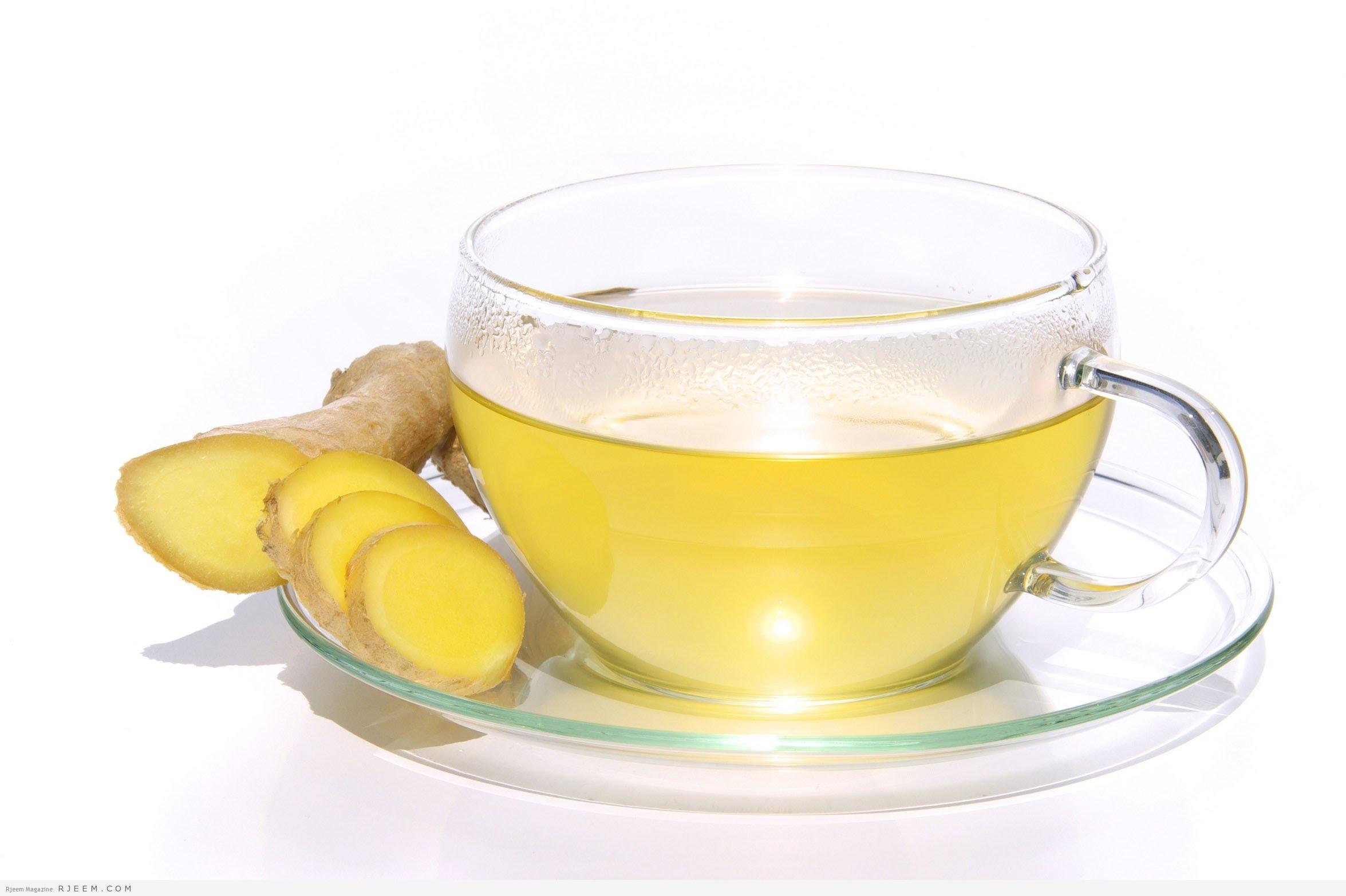 شاي الزنجبيل